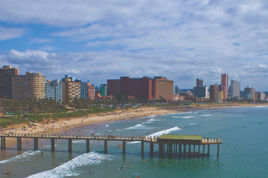 Flights to Durban. Visit Beach Front Fly SA Express