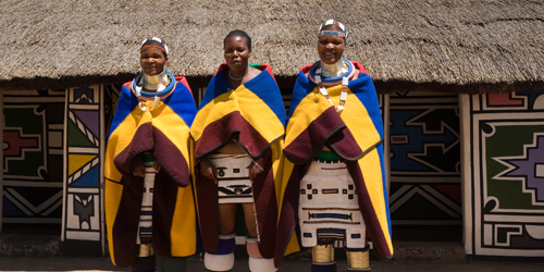 Flights to Hoedspruit. Visit Ndebele culture
